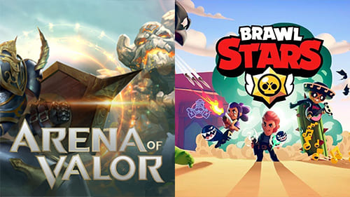 Arena of Valor ir Brawl Stars